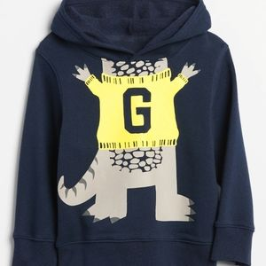 Gap | Toddler Reptile Graphic Hoodie Sweatshirt